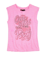 Gloss Junior Girls Sleeveless Striped Top