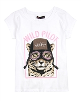 Gloss Junior Girls T-shirt with Pilot Print