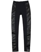 Gloss Junior Girls Leggings with Pleather