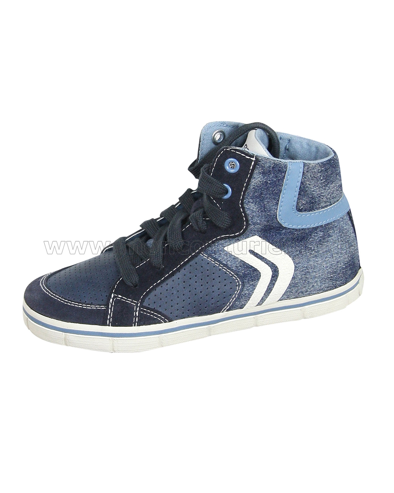 new concept good service official site GEOX Boys Hi-top Sneakers Jr Kiwi