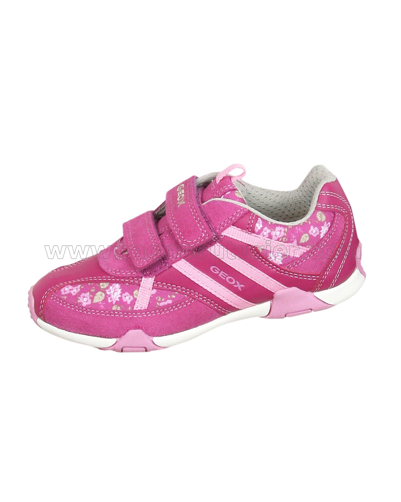 911207b978 GEOX Girls' Sneakers Jr Tale Pink