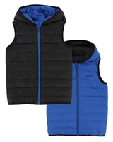 BOSS Boys Reversible Down Puffer Vest