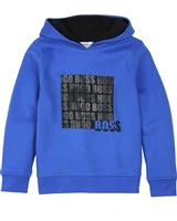 BOSS Boys Hooded Sweatshirt with Print