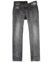 BOSS Boys Basic Denim Pants Gray