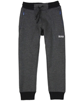 BOSS Boys Basic Joggings Pants Gray
