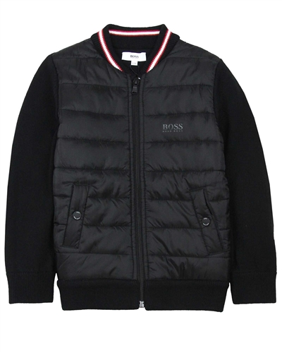 BOSS Boys Combination Jacket
