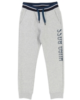 BOSS Boys Basic Sweatpants Gray