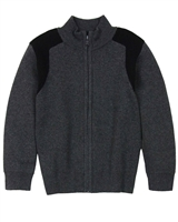 BOSS Boys Cotton/Wool Knit Cardigan