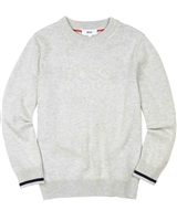 BOSS Boys Embossed Logo Pullover