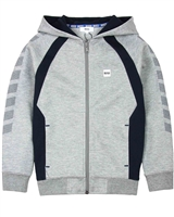 BOSS Boys Hooded Cardigan with Side Inserts