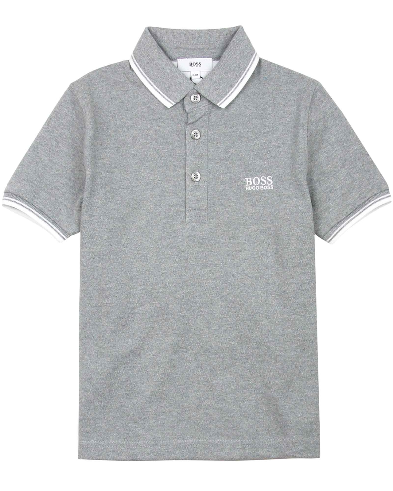 f7a5cc9eb BOSS Boys Basic Polo Shirt in Grey - BOSS - BOSS Boys Clothes Spring ...