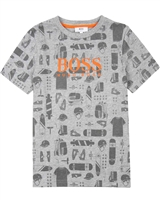 BOSS Boys Printed T-shirt