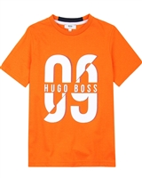 BOSS Boys T-shirt with Number Print