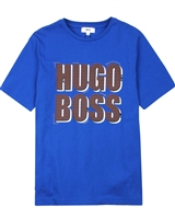 BOSS Boys T-shirt with Logo Print