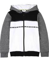 BOSS Boys Colour-block Jogging Cardigan