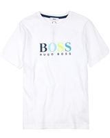 BOSS Boys Logo T-shirt in J25D85-N48
