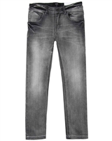 BOSS Boys Slim Fit Denim Pants in Grey