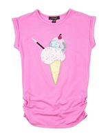 Imoga Tunic with Ice-cream Applique Annie