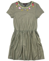 Imoga Jersey Dress with Necklace Mallory