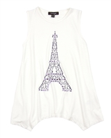 Imoga Jersey Tunic Beth with Paris Tower