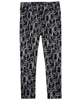 Imoga Leggings Alyssa in Black Jewel Print