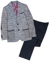 Isaac Mizrahi Boys' Two-tone Linen Suit