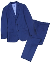 Isaac Mizrahi Boys' Two-Piece Wool Blend Suit