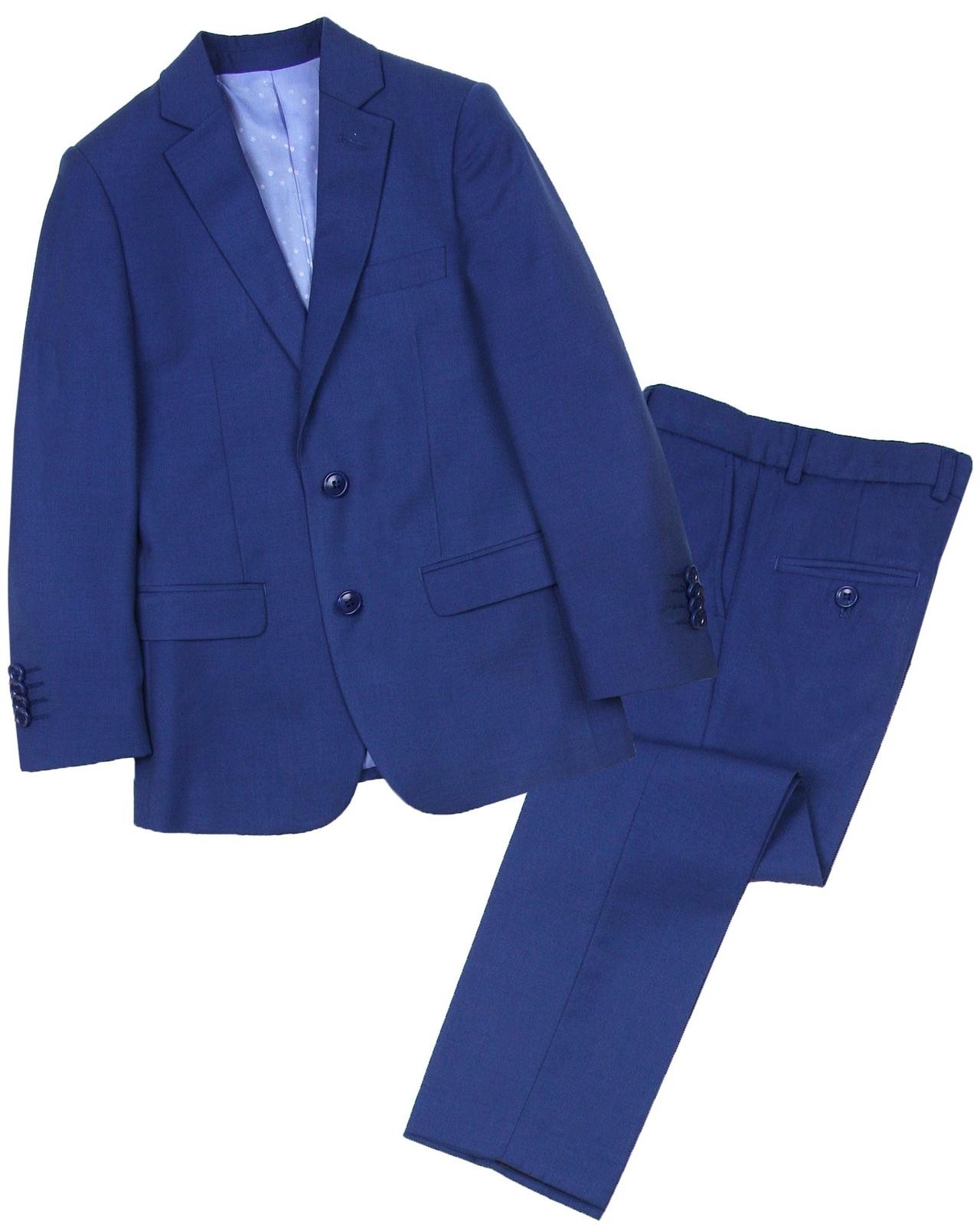 Isaac Mizrahi Boys 2-Piece Linen Tweed Suit