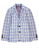 Isaac Mizrahi Boys' Plaid Blazer