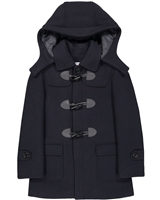 Isaac Mizrahi Boys' Duffle Coat in Navy