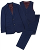 Isaac Mizrahi Boys' 3-piece Suit Set in Blue