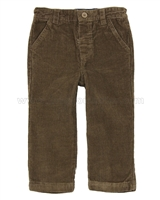 JoJo Maman Bebe Boys' Corduroy Pants Brown
