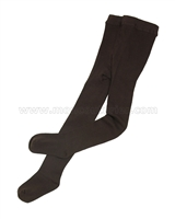 Jefferies Organic Cotton Seamless Tights Chocolate