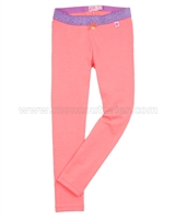 Kidz Art Solid Leggings Coral