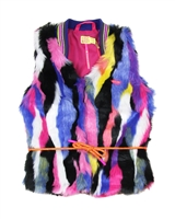 Kidz Art Faux Fur Vest