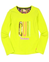 Kidz Art Top with Print and Sequins