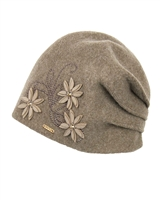 Kamea Women's Hat Lukrecija in Taupe