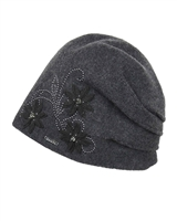 Kamea Women's Hat Lukrecija in Dark Grey
