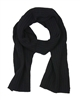 Kamea Women's Rib Knit Scarf in Black