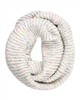 Kamea Women's Infinity Scarf Tonia in White