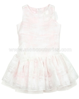 Biscotti Girls Tea Party Dress Pink