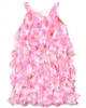 Kate Mack Girls Dottie Daisy Ruffled Dress