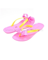 Kate Mack Girls Flip-flops Pink