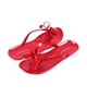 Kate Mack Girls Flip-flops Red