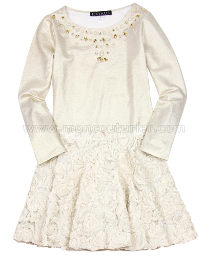 Biscotti Filigree Splendor Top and Skirt Set