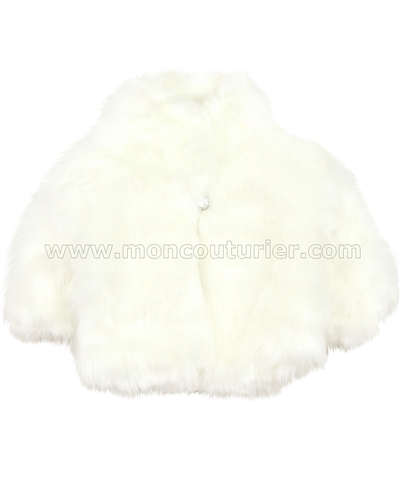 Biscotti Faux Fur Vest Cream