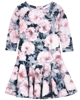 Kate Mack Indigo Rose Scuba Dress