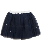 Kate Mack Style Prodigy Navy Tulle Skirt