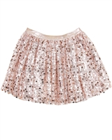 Kate Mack Royal Shimmer Sequin Skirt