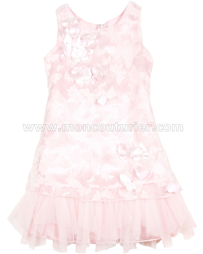 Biscotti Girls Pink Dress Butterfly Waltz